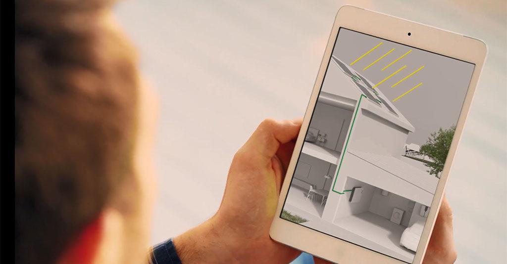 domotica casa tablet remoto