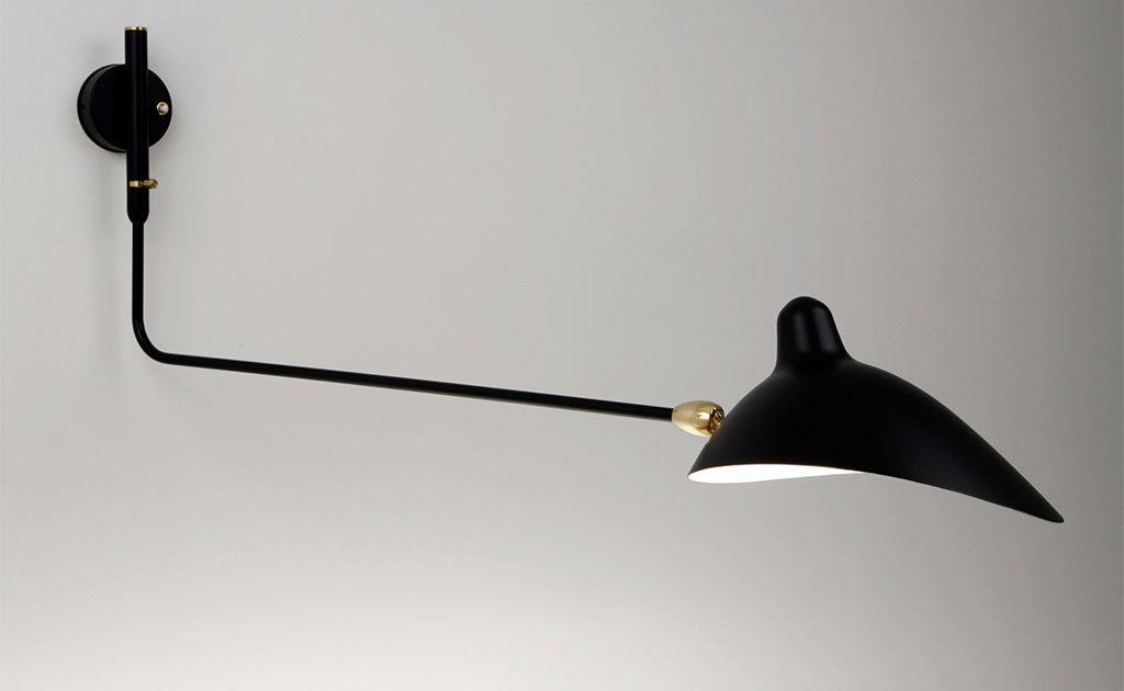 lampada a parete vintage