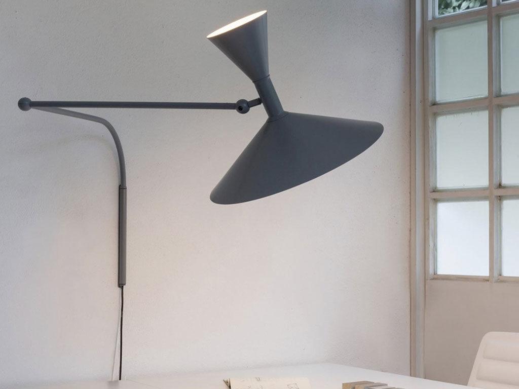 lampada parete girevole design