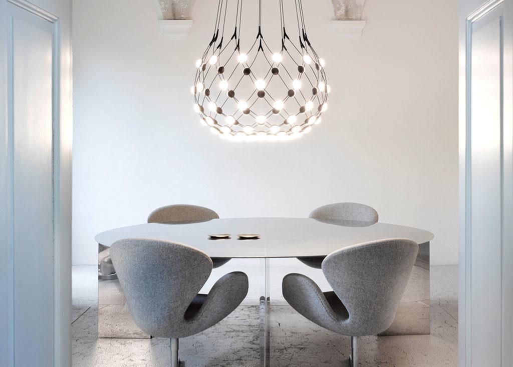 lampada sospesa design tavolo