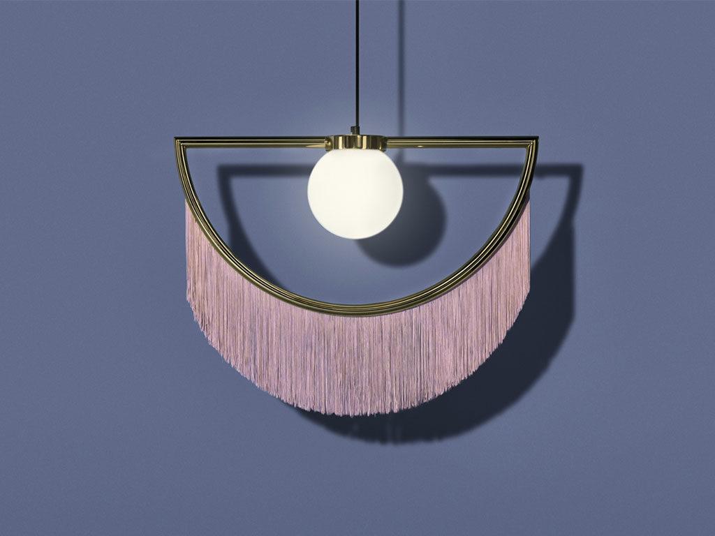 lampada sospensione vintage