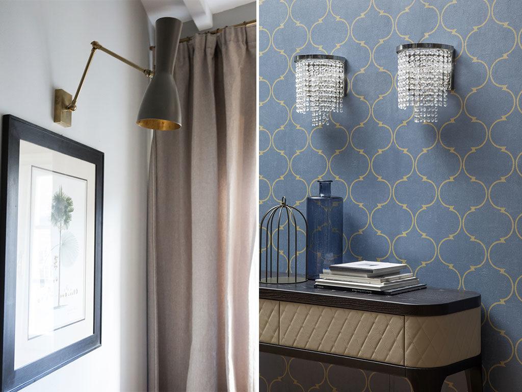 lampade parete vintage design