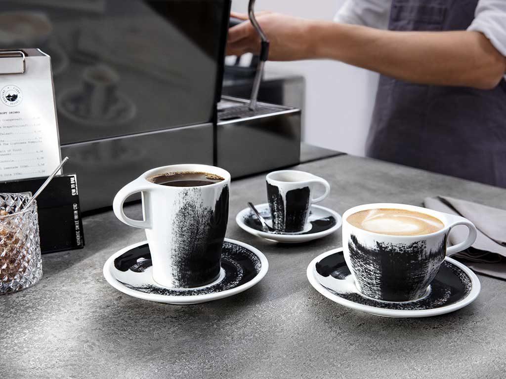 mug tazza caffe e tazza cappuccino