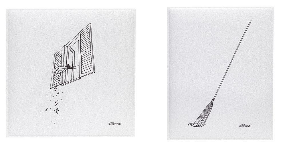 pannelli fonoassorbenti disegni autore