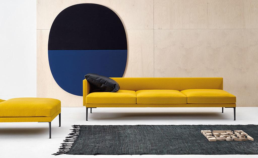 pannello fonoassorbente parete nero blu
