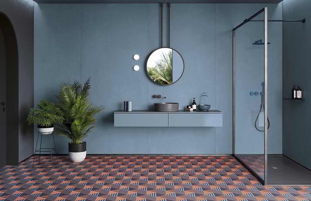 pavimento ceramica effetto tappeto