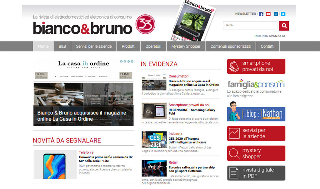 bianco e bruno on line screenshot