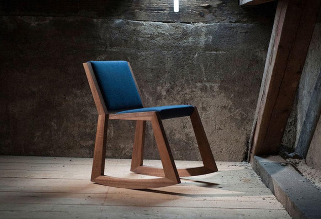 sedia a dondolo design