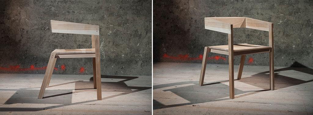 sedia legno frida