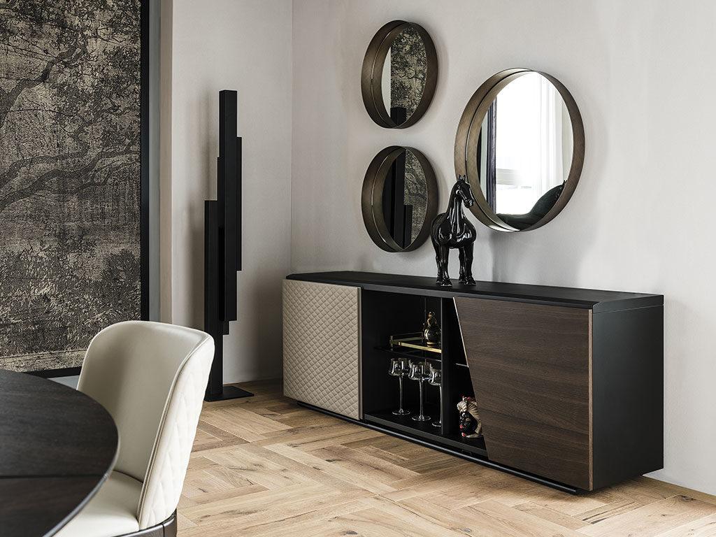 specchi design tondi parete