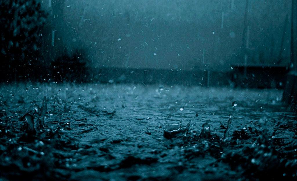 acqua piovana temporale