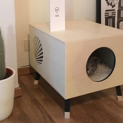cuccia design gatto