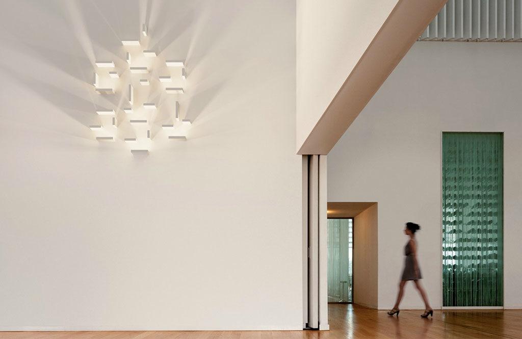 set lampade parete