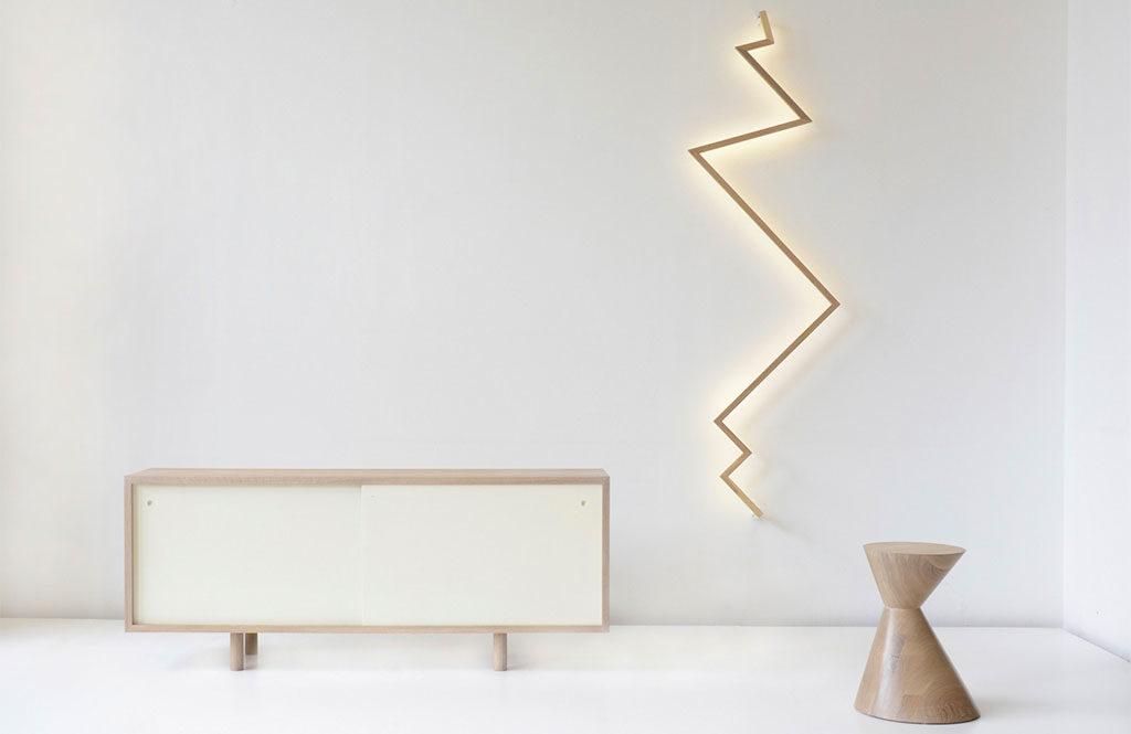 lampada a parete design