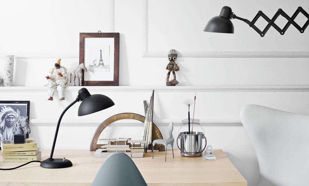 lampada da parete e da tavolo kaiser
