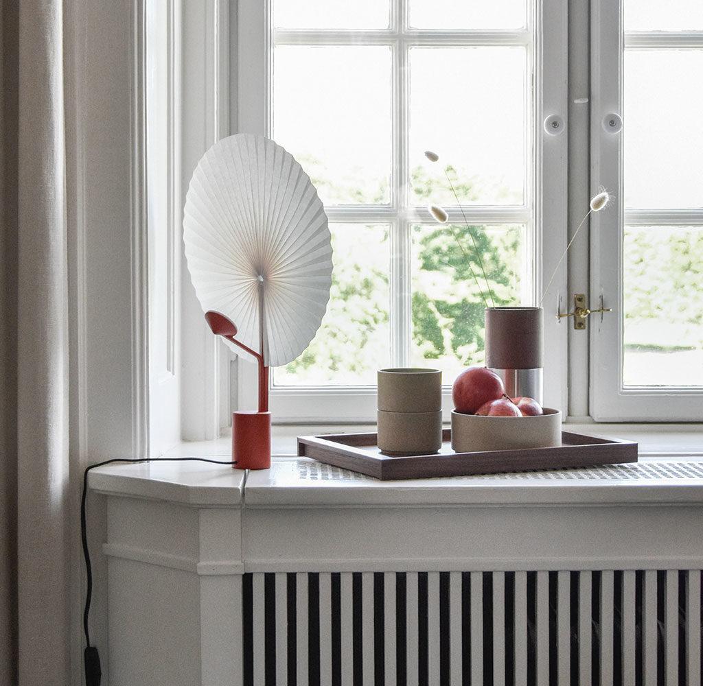 lampada da tavolo ventaglio