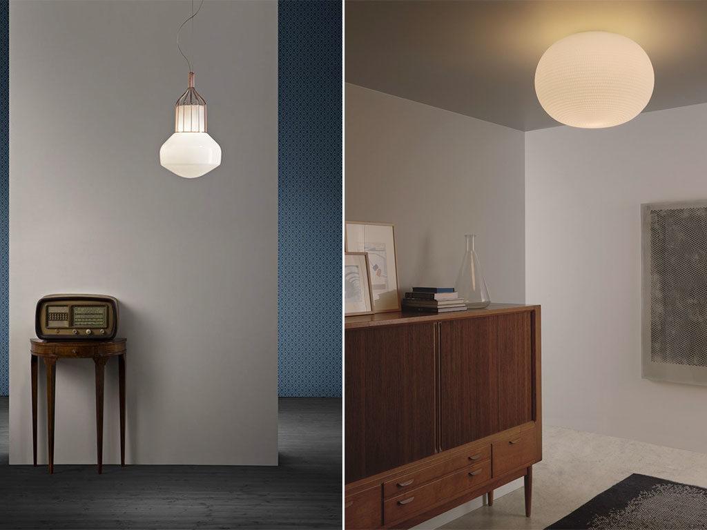lampada sospensione e lampada soffitto