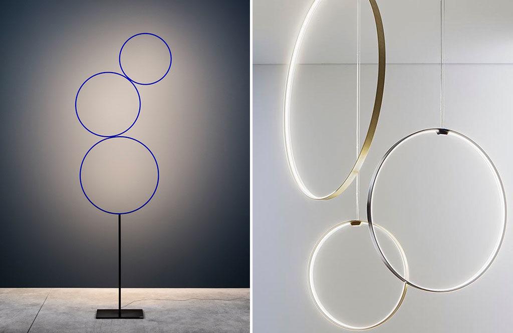 lampade a cerchio design