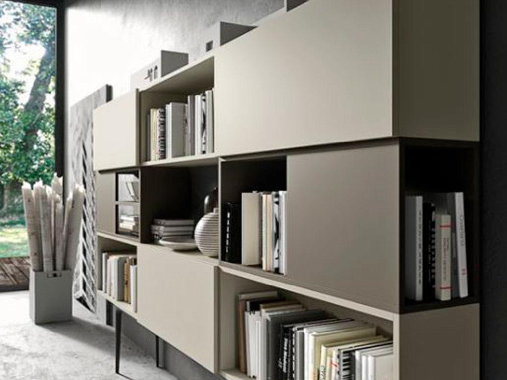 mobile contenitore libreria parete
