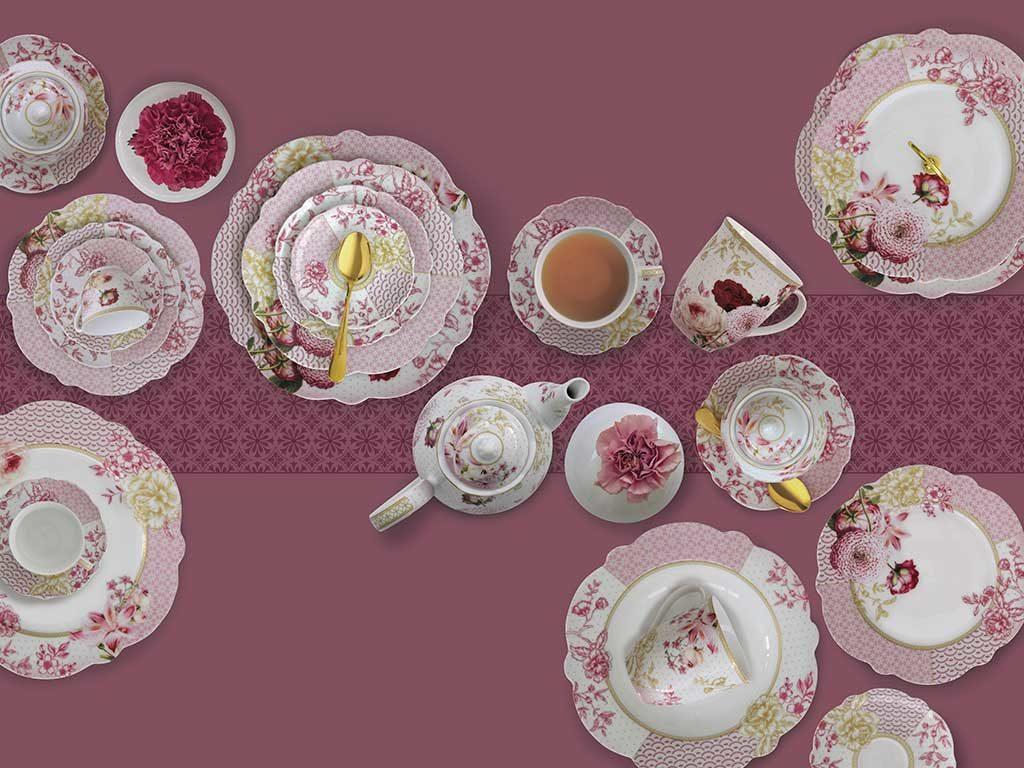 servizio te elegante ceramica inglese
