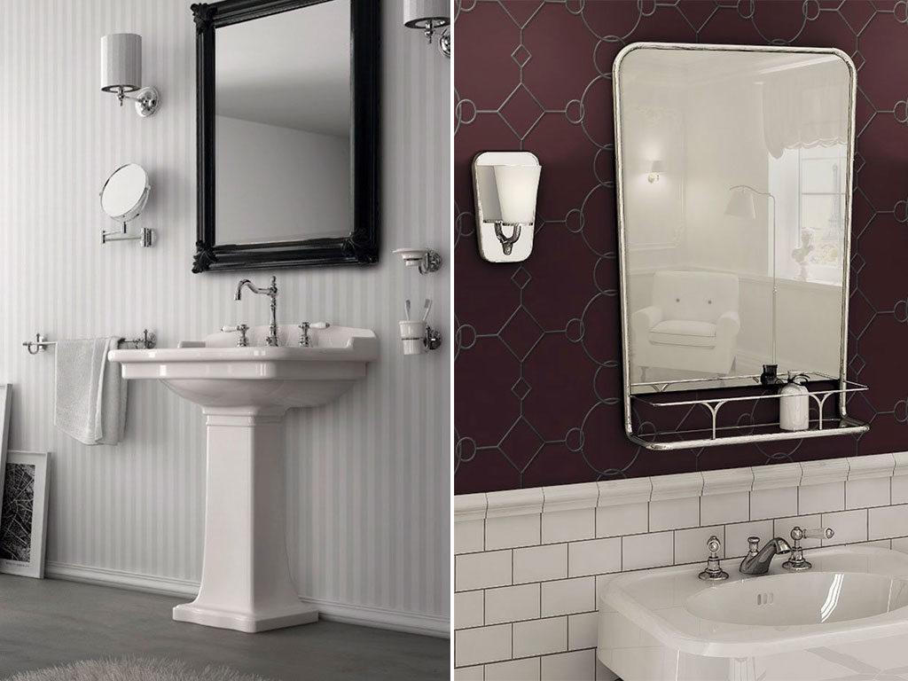 specchi classici bagno