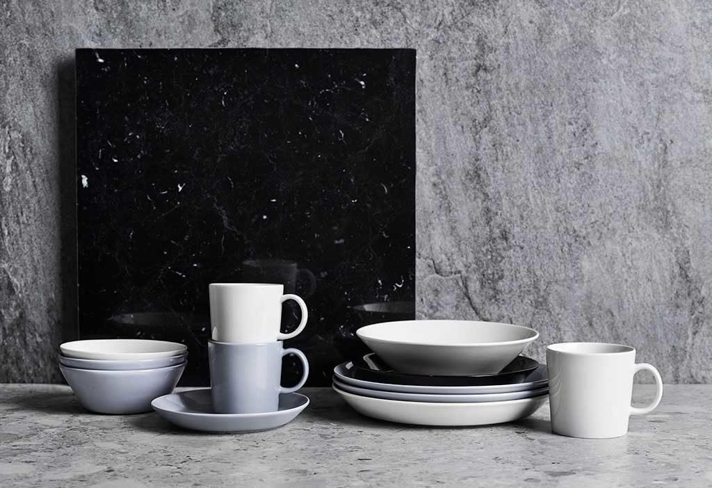 tazze piatti ciotole design tavola
