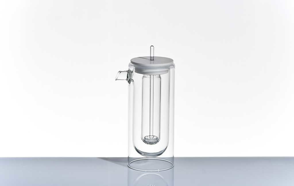 teiera in vetro design