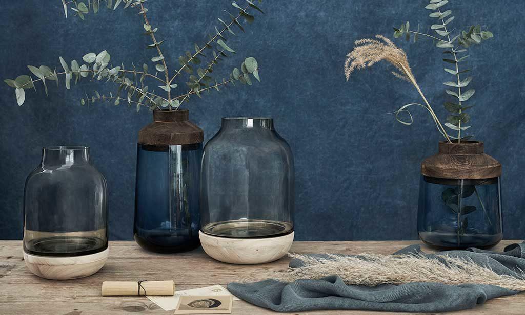 vasi vetro design fontebasso