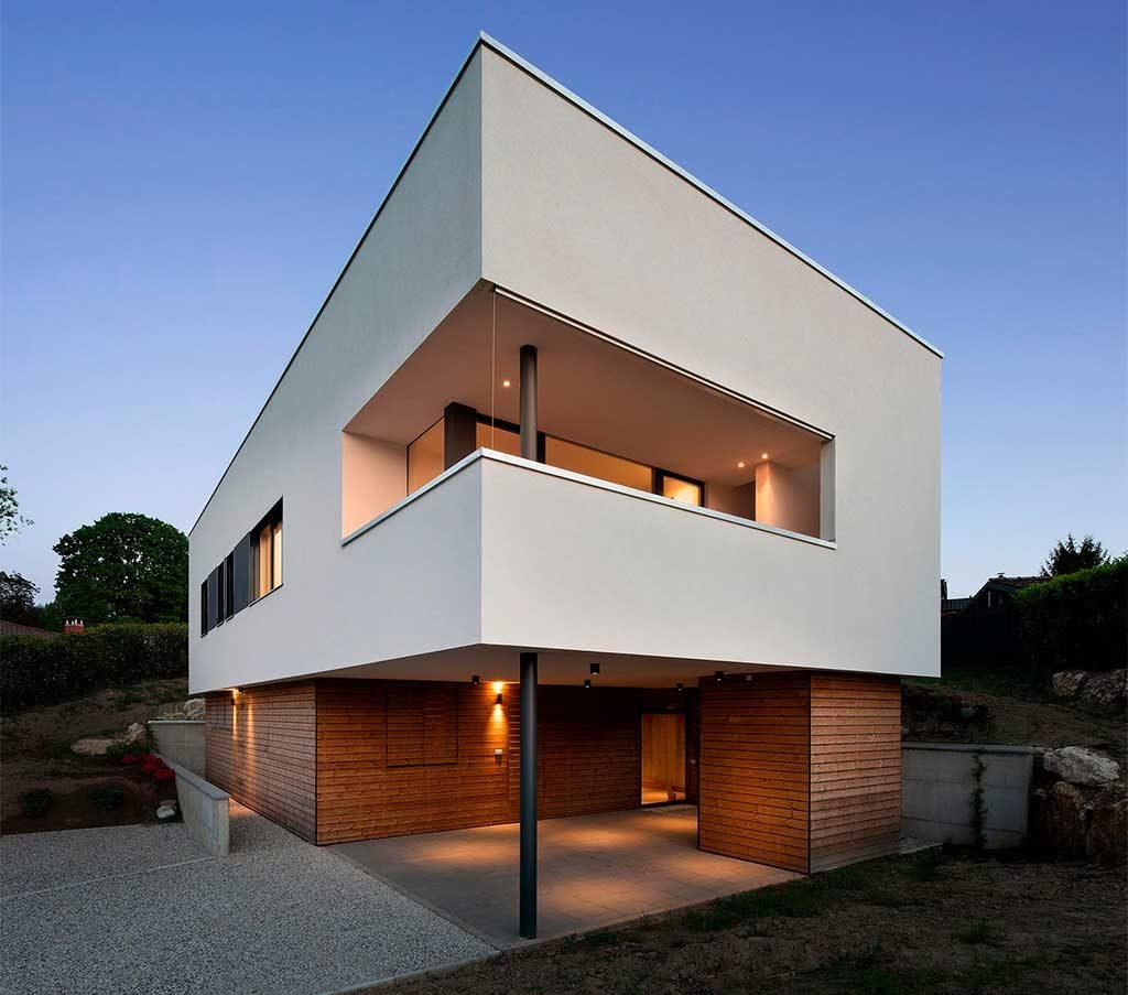 casa due piani eco
