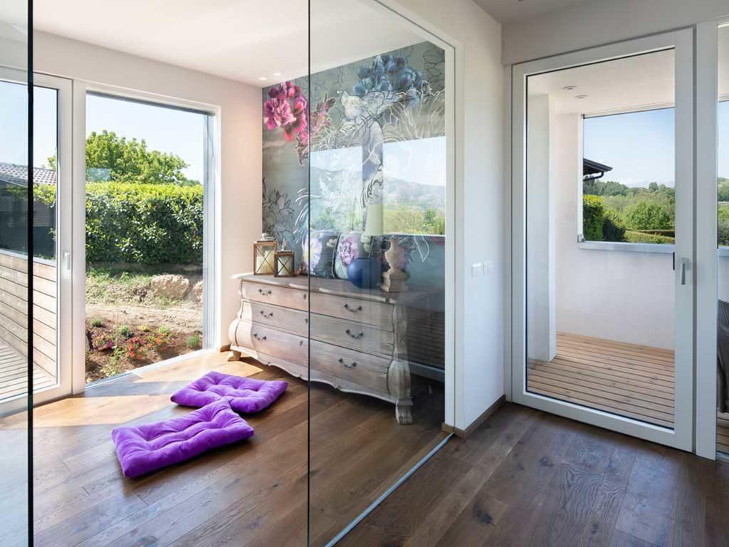 interni casa bioclimatica