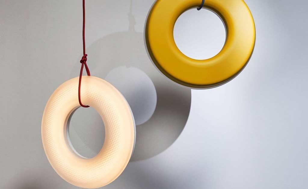 lampada sospensione ciambella