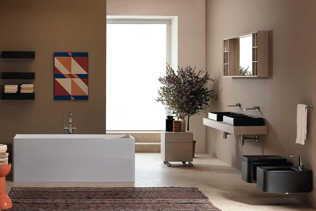 lavabi e sanitari color grafite