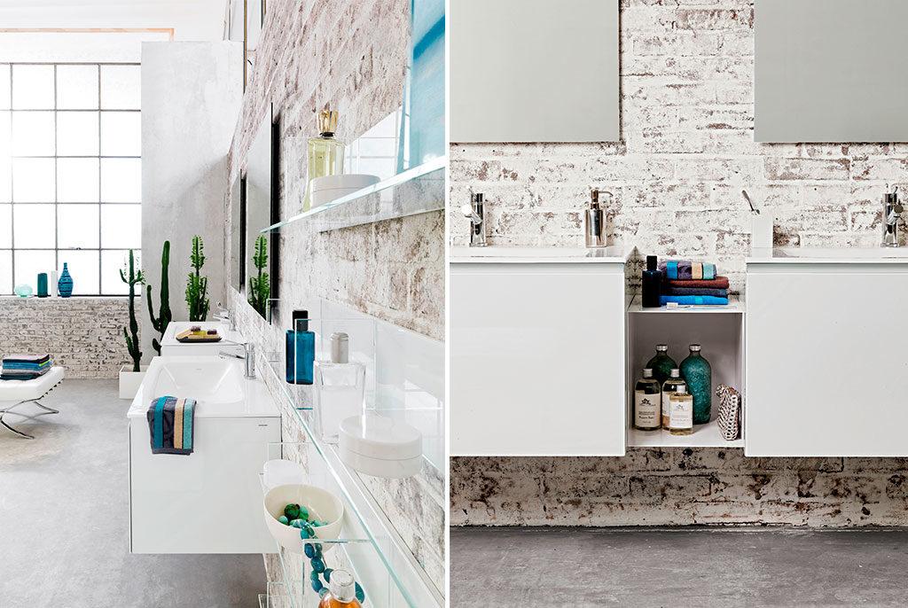 mobili bagno sospesi design