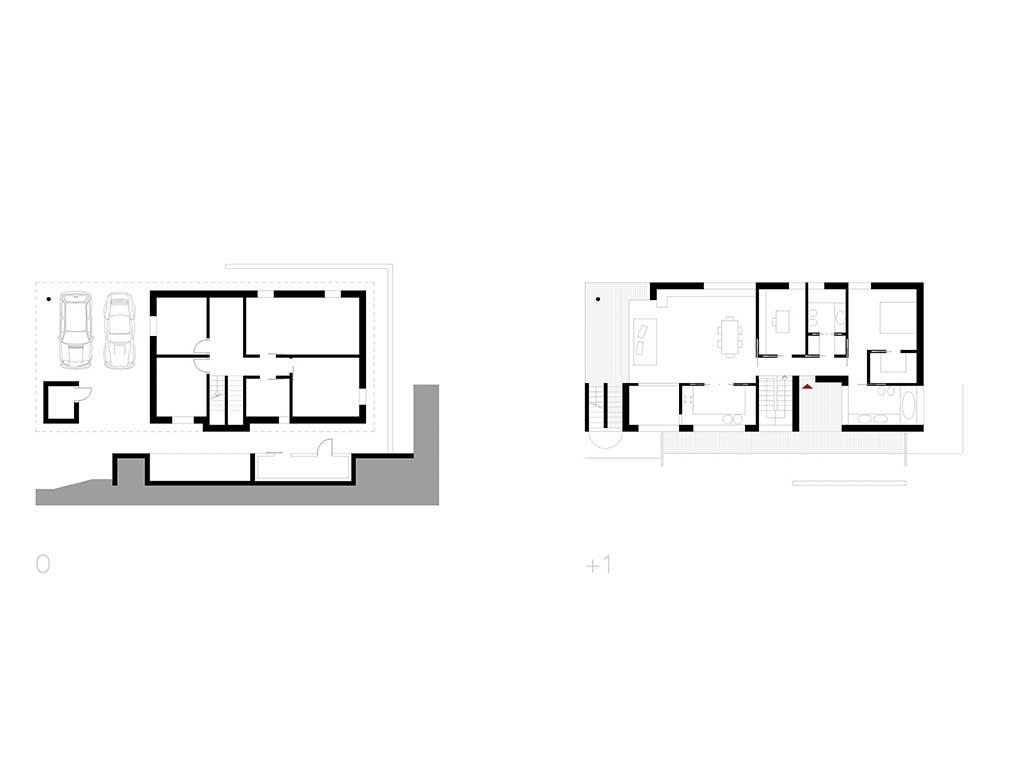 planimetria progetto casa bg