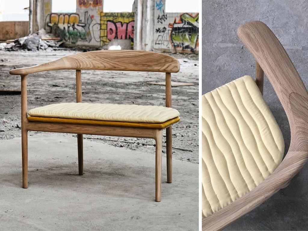 seduta design legno