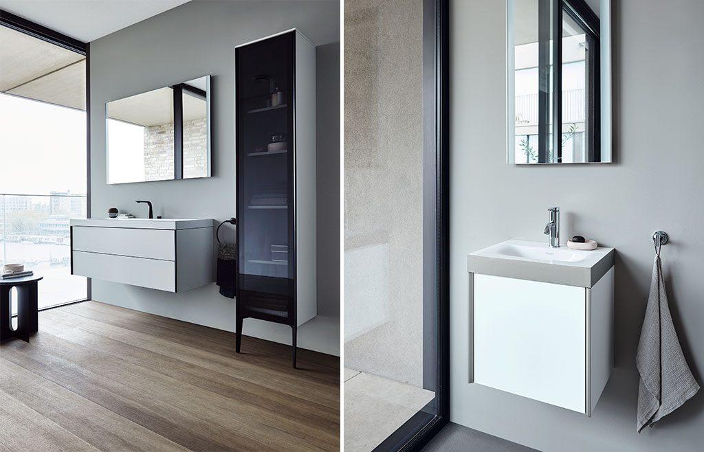 arredo bagno bianco nero design
