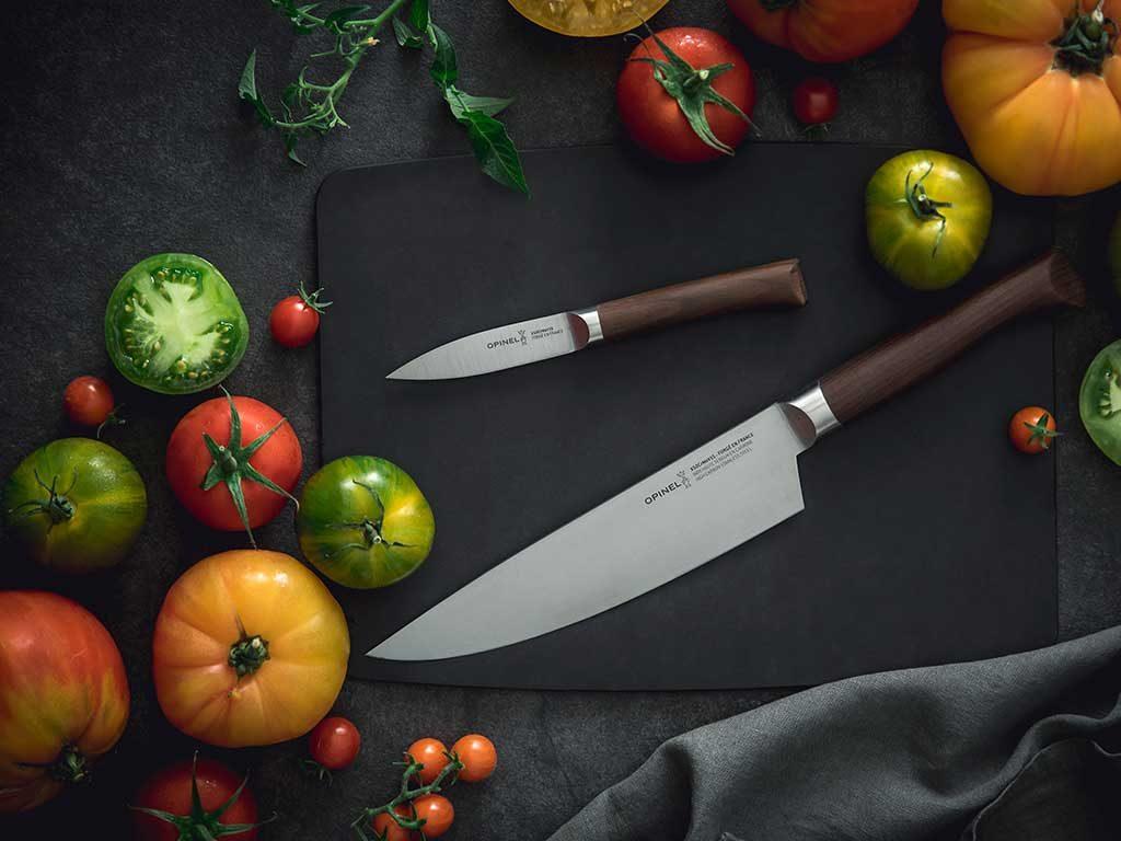 coltello chef e spelucchino