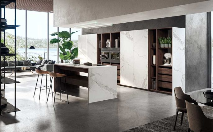 cucina grande moderna