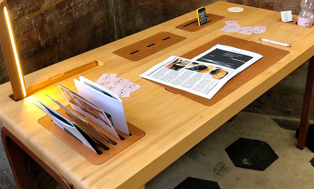 scrivania design autoprodotto
