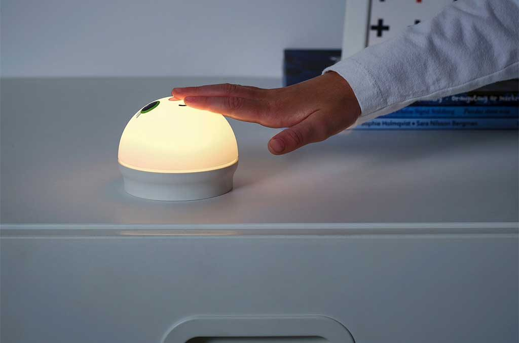 lampada notturna touch