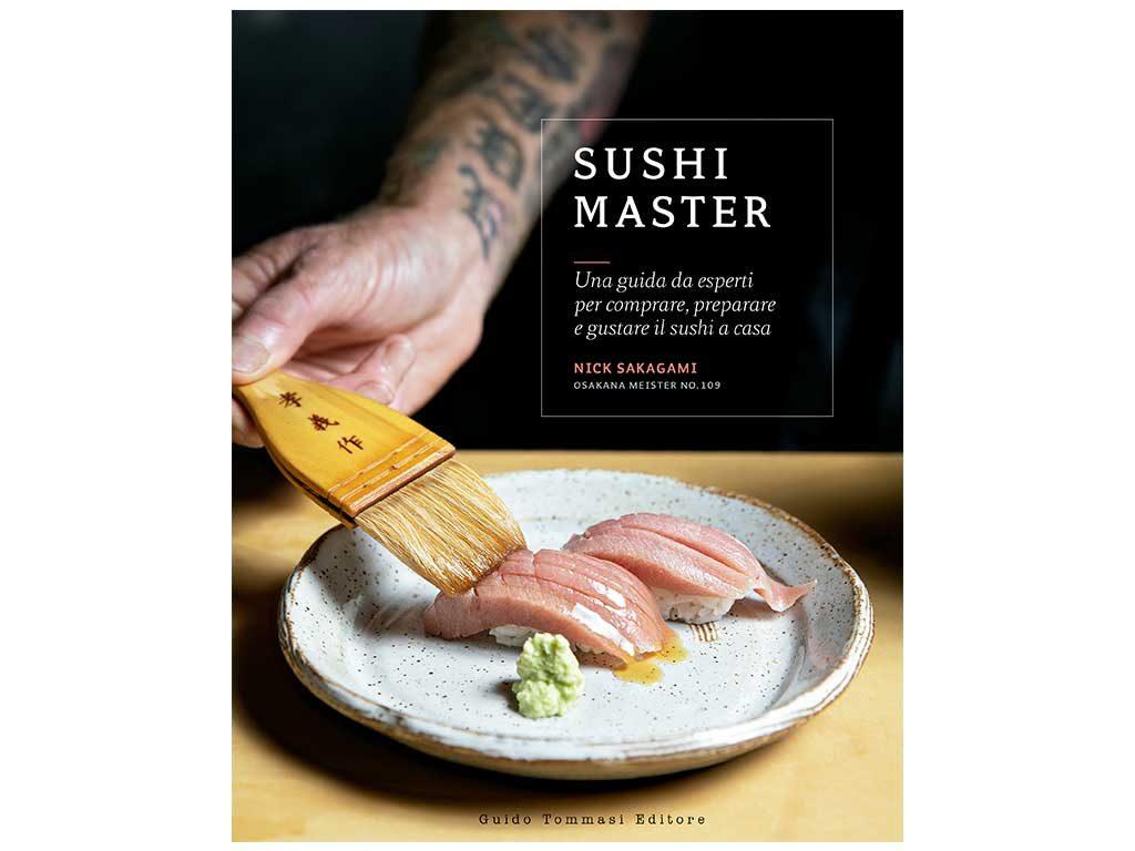 copertina libro sushi master