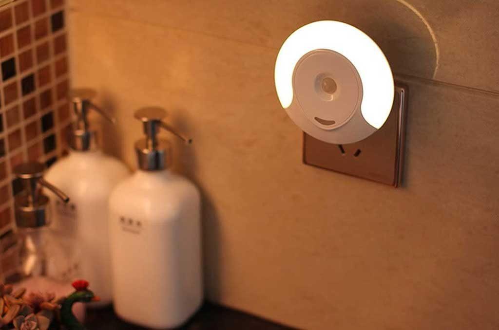 luce led presa sensore