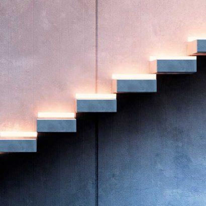 led segnapasso scale