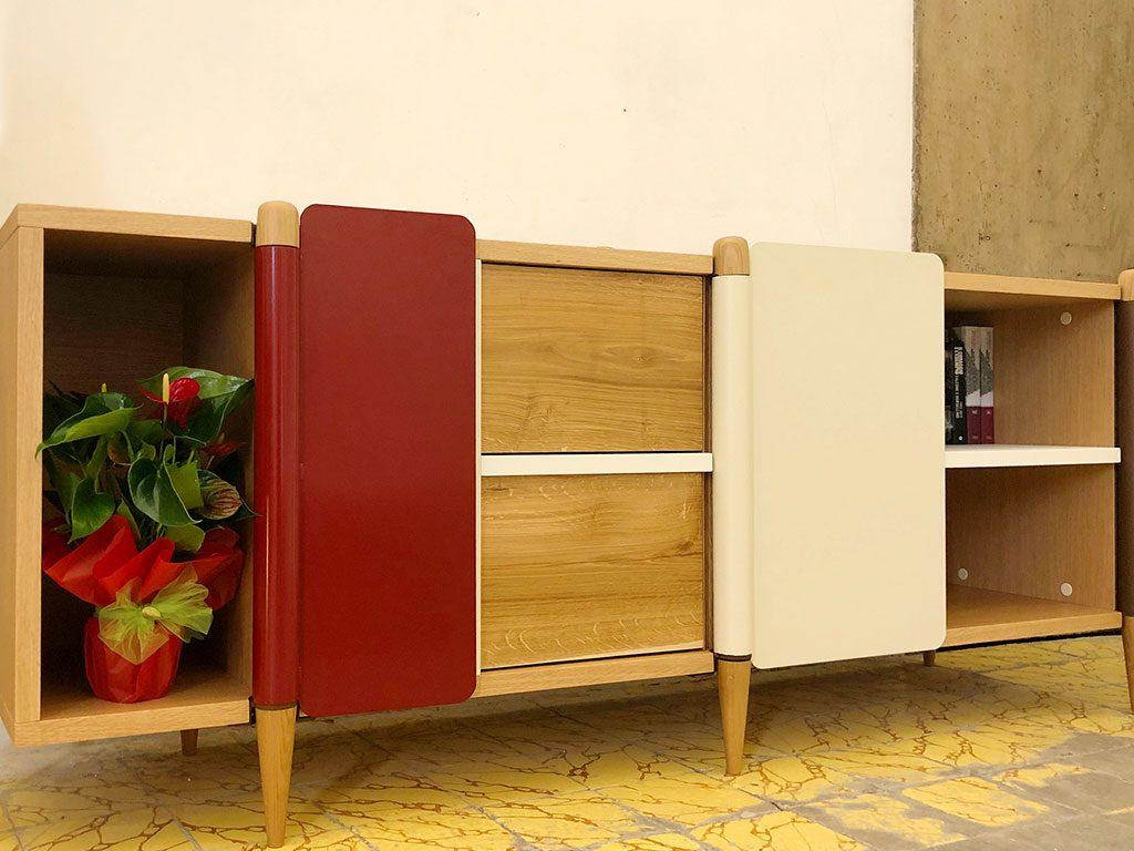 mobile legno design autoprodotto