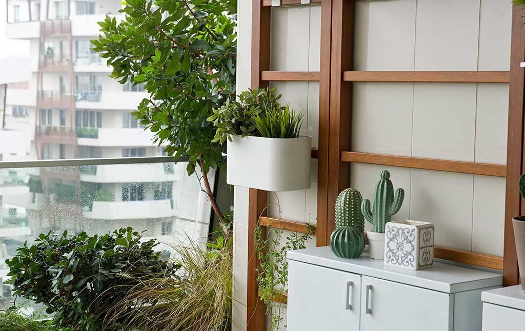 modulare balcone verde