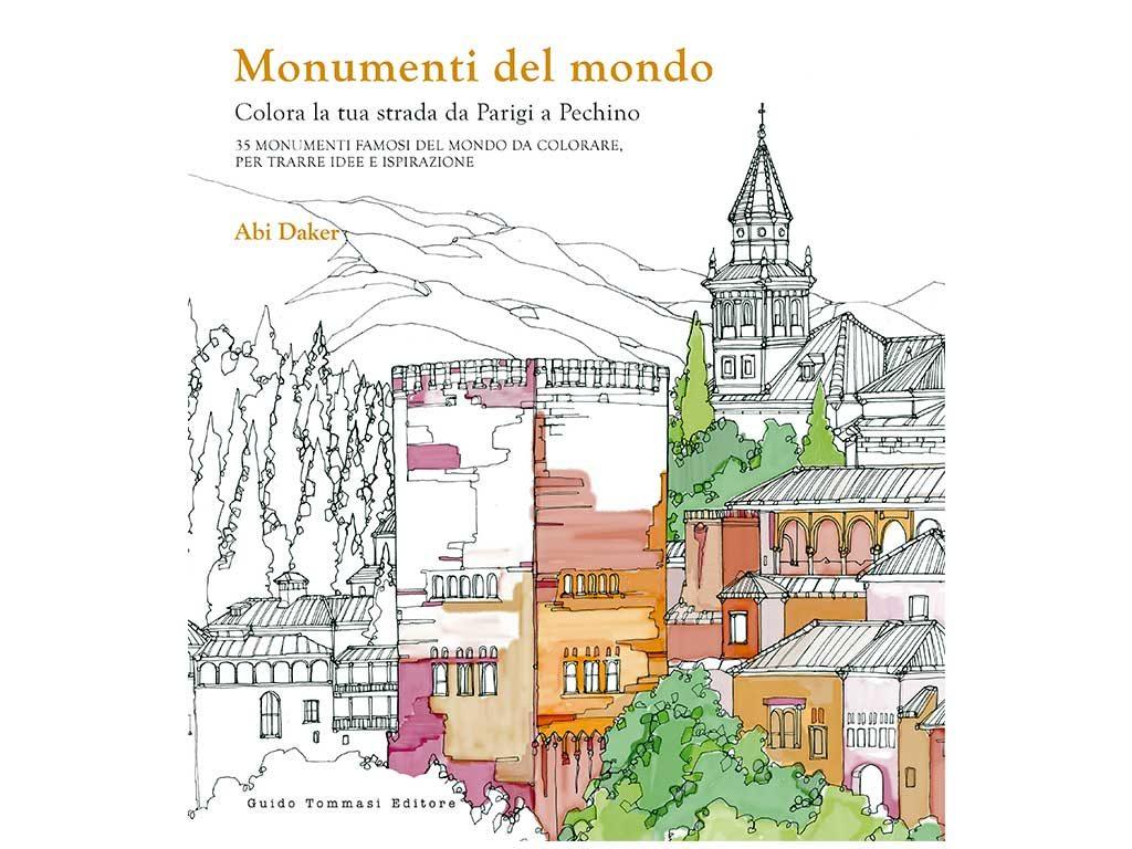 monumenti del mondo colorare