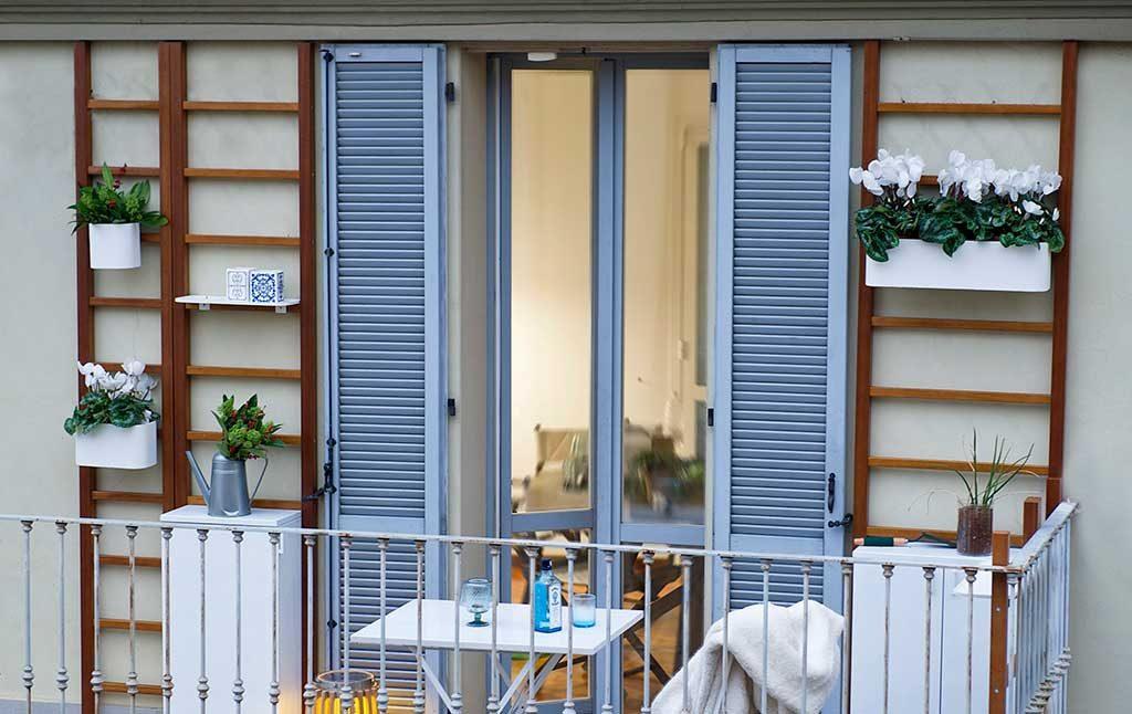 pareti per verde balcone