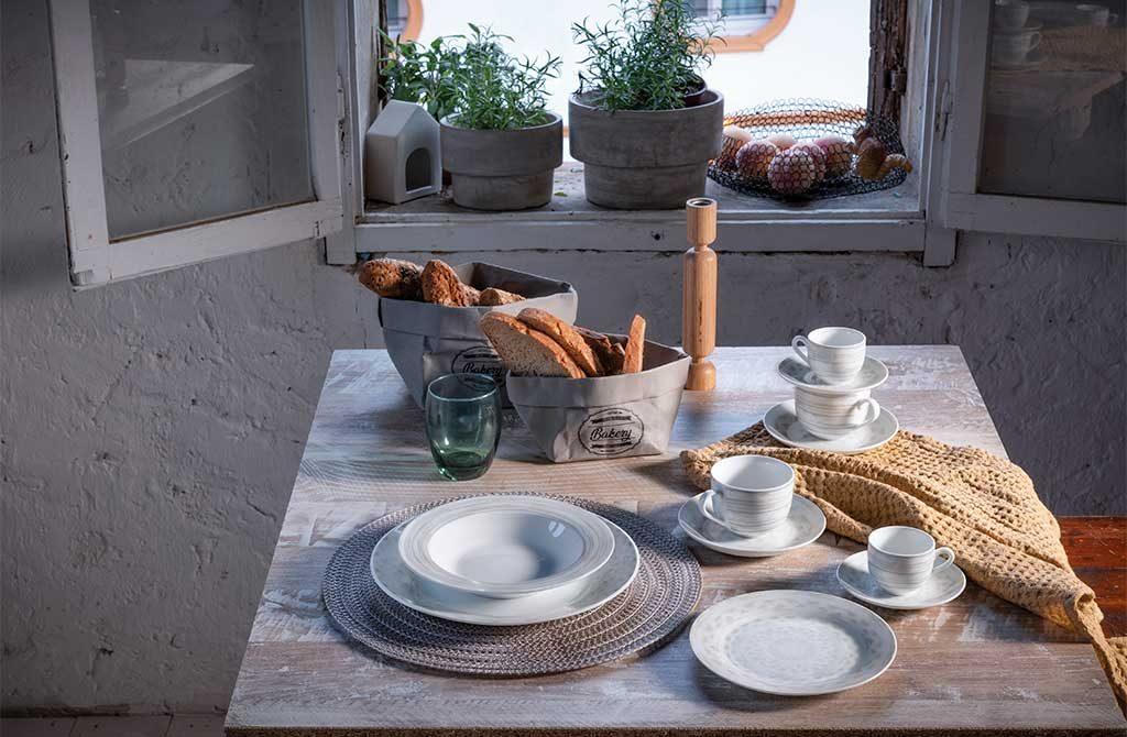 piatti ceramica decoro sabbia