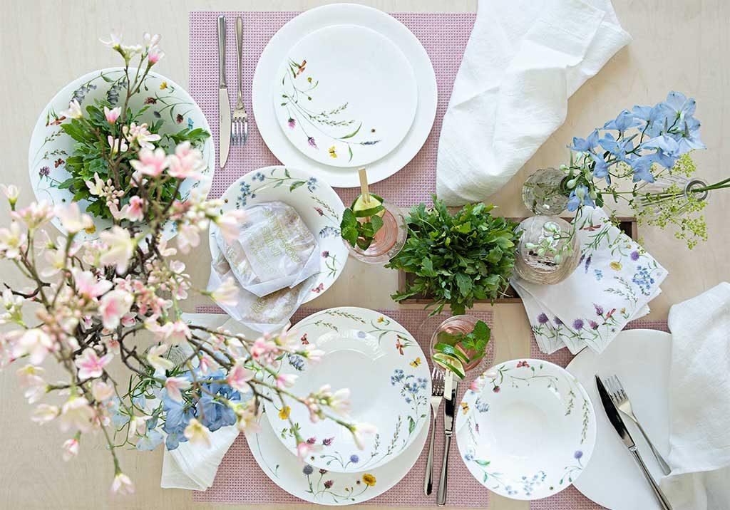 piatti decoro primavera