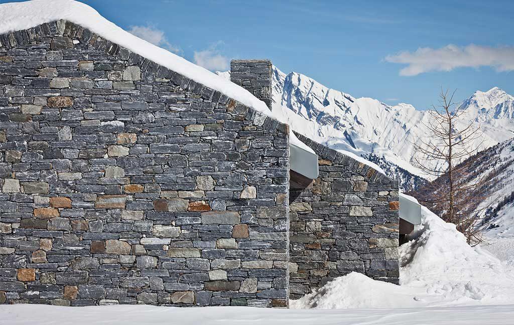pietra a secco casa